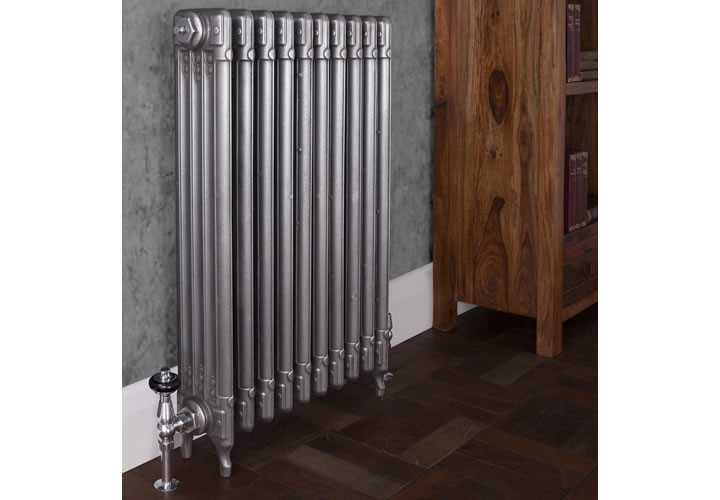 Deco hand burnished cast iron radiator