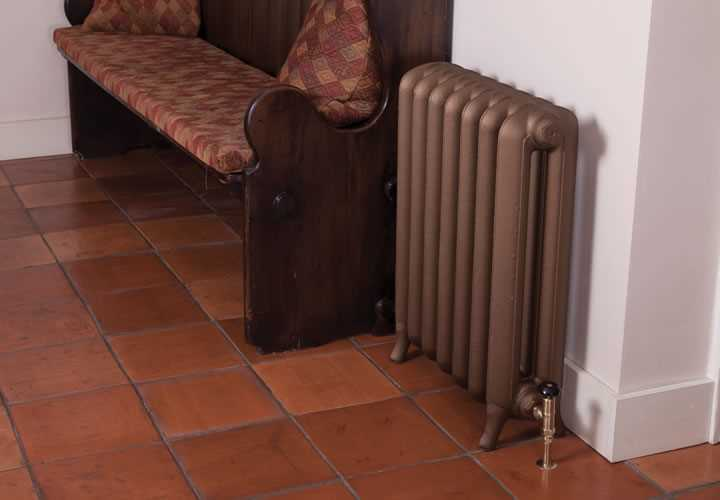 Peerless 2 column painted cast iron radiator