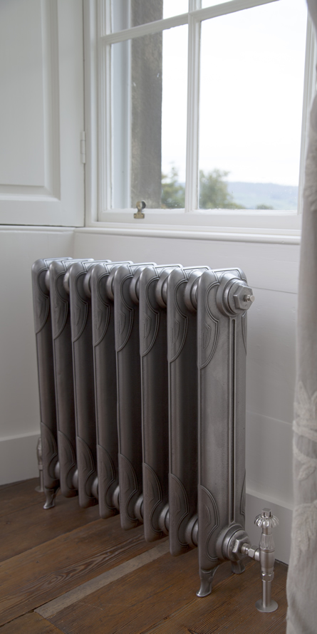 liberty 1 column contemporary cast iron radiator