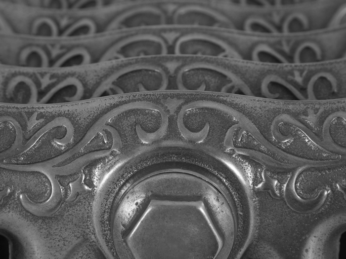 Turin hand burnished cast iron radiator