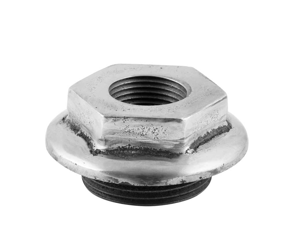 End Bush 1.25 Inch 0.75 Inch Inlet Full Polish