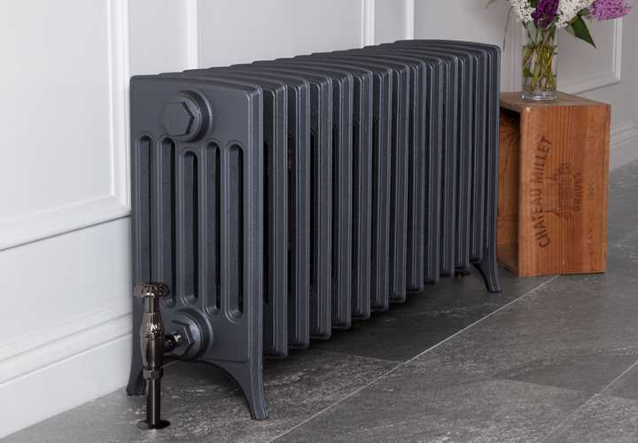 Rathmell 6 column cast iron radiator