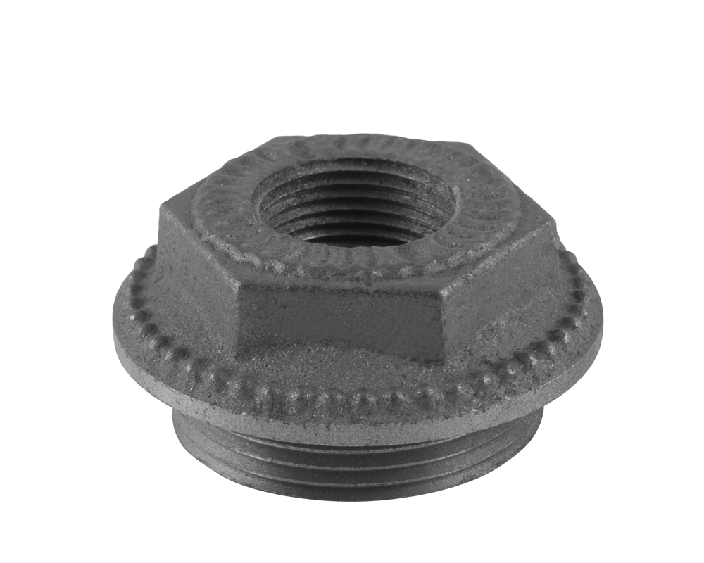 Decorative End Bush 1.5 Inch 0.75 Inch Inlet