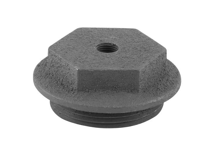 End Cap 1 5 Inch Bleed Inlet Right Hand Thread