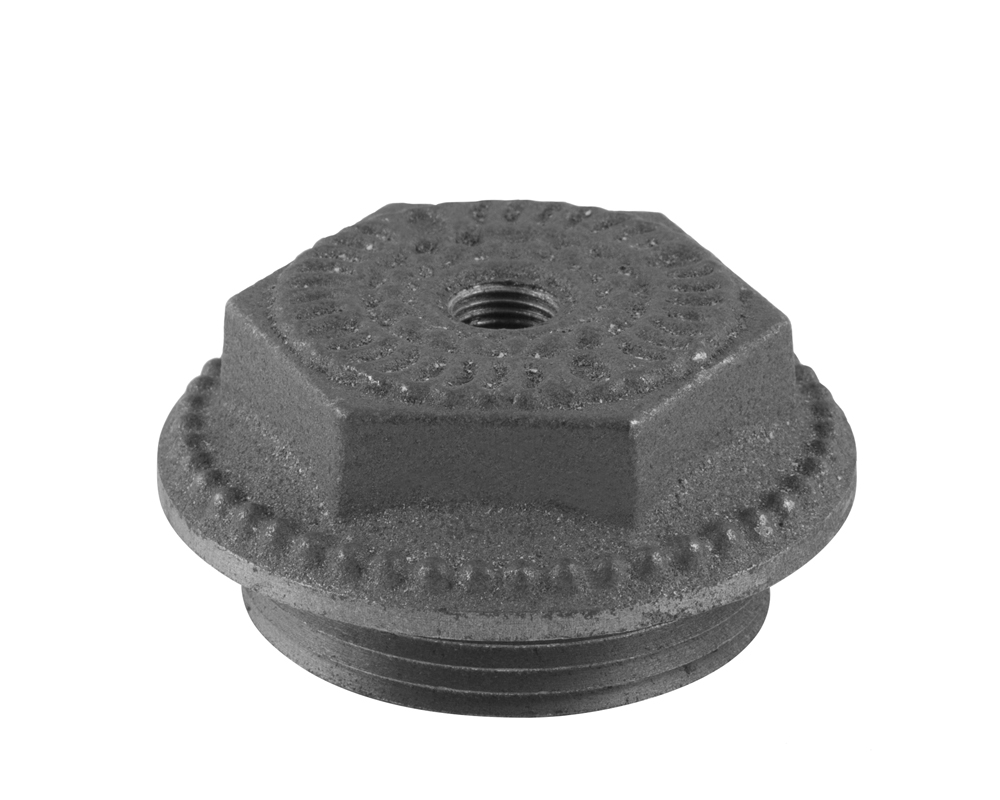 Decorative End Cap 1.5 Inch Bleed Inlet