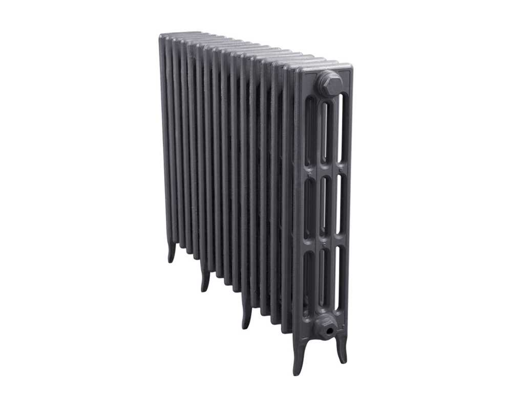 Victorian 4 column 16 section radiator in primer 810mm high