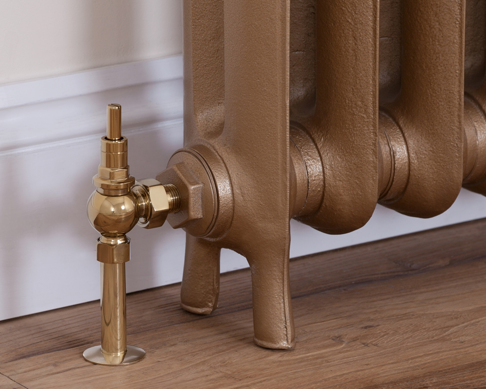 brass manual brumpton radiator valve