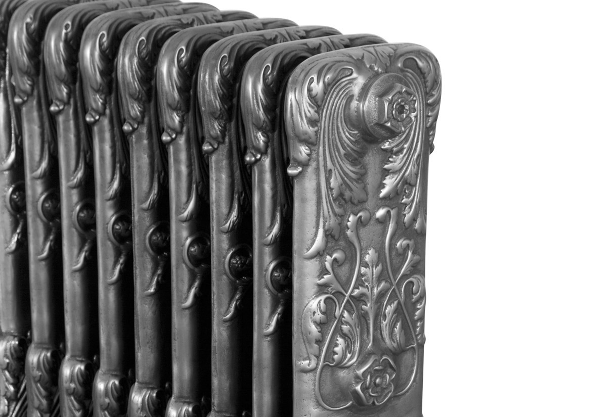 Chelsea 1 Column Hand Burnished 9 Section 675Mm Detail