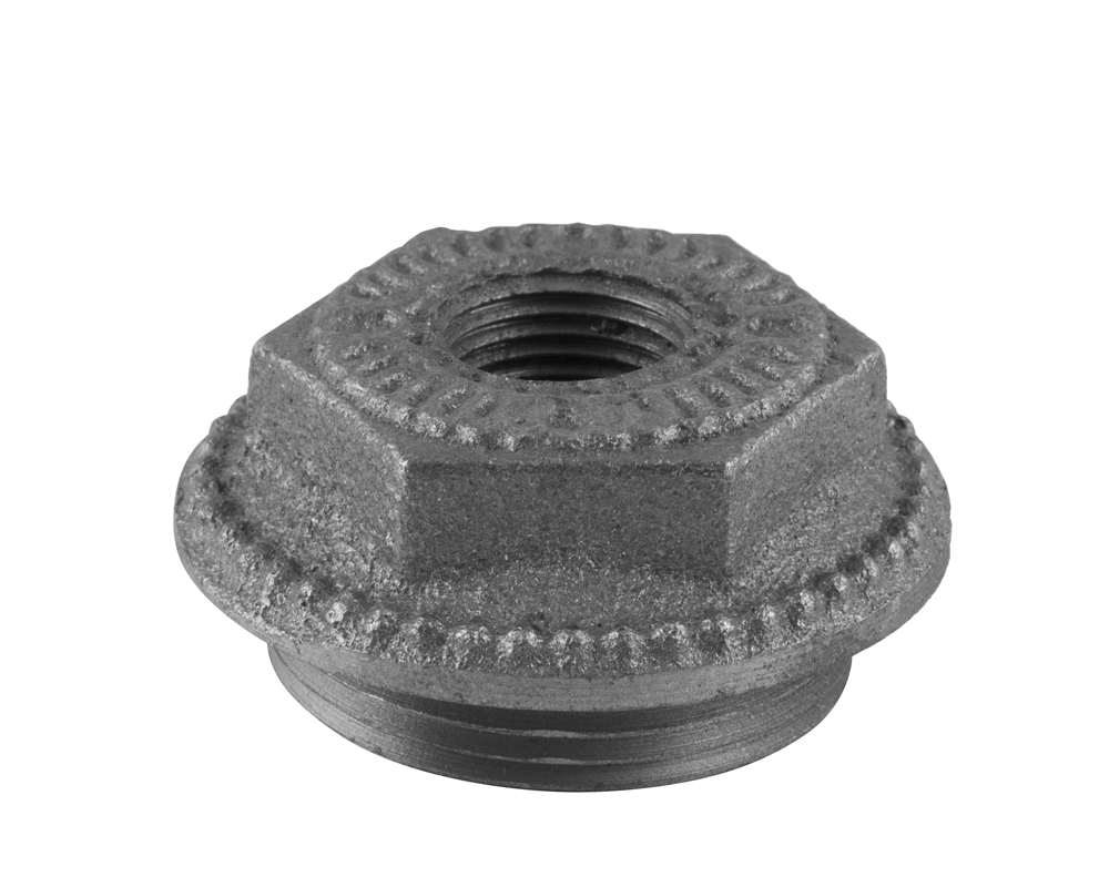Decorative End Bush 1.5 Inch 0.5 Inch Inlet
