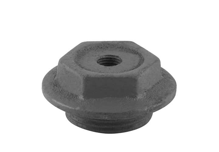 End Cap 1 Inch Bleed Inlet Right Hand Thread