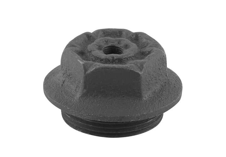 Chelsea End Cap 1 5 Inch Bleed Inlet Right Hand Thread