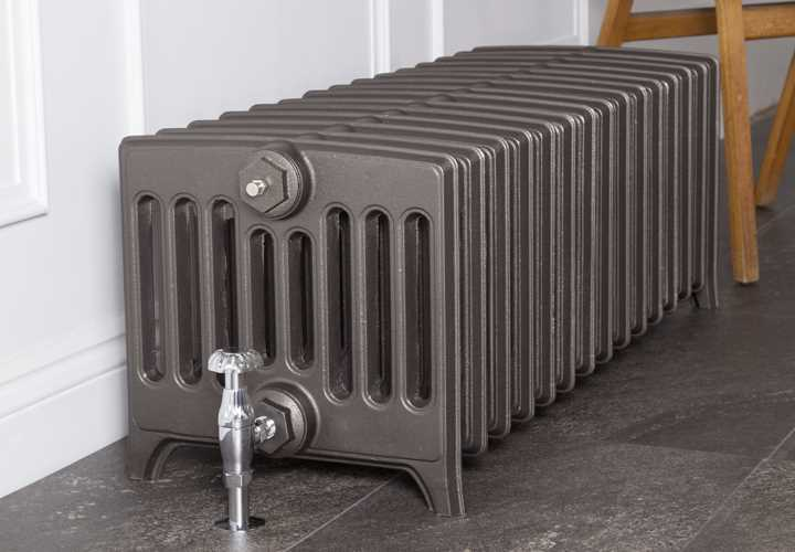 Rathmell 9 column cast iron radiator